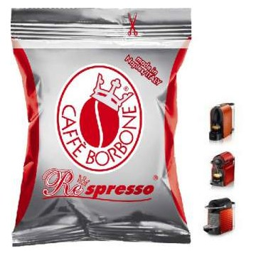 Nespresso Borbone Roja 50 Capsulas