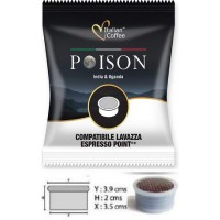 Espresso Point India Uganda Poison 100 Cápsulas