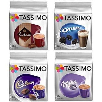 Degustación Cápsulas Tassimo Chocolate