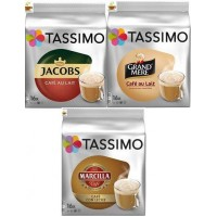 Degustación Capsulas Tassimo Café Con Leche 4 Packs