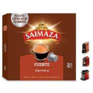Compatibles Nespresso®* Saimaza Fuerte 20 Cápsulas