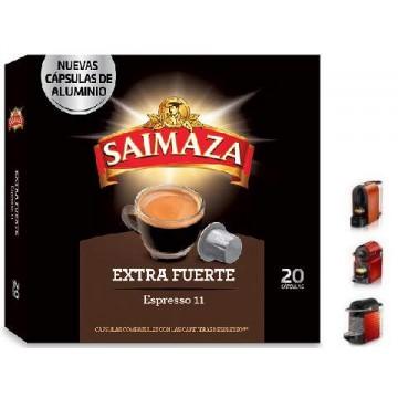 Saimaza Extra Fuerte 20 Cápsulas Nespresso