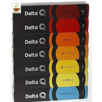 Café Delta Q Degustación 70 Cápsulas