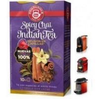Capsulas Pompadour Te spicy chai indian