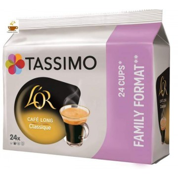 Tassimo L`OR Long Classic 24 Cápsulas