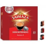 Cápsulas Metálicas Saimaza Nespresso®* Descafeinado