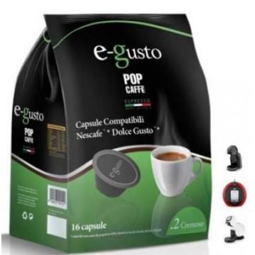 Pop Caffe E-GUSTO Cremoso 16 Cápsulas