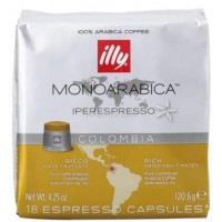 Illy IperEspresso Monoarábica Colombia 21 ud
