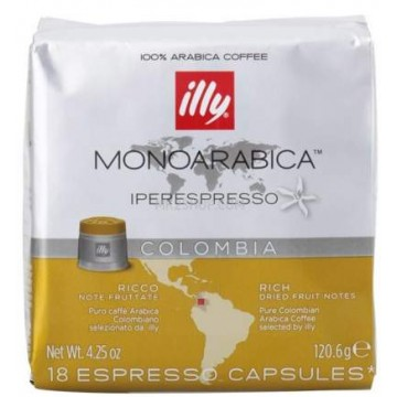 Illy IperEspresso Monoarábica Colombia 18 ud