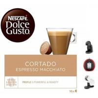 CAPSULAS DOLCE GUSTO CORTADO 16 UD