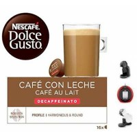Nescafe Dolce Gusto Cafe Con Leche Descafeinado 16 Ud