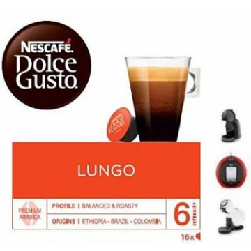 Nescafe Dolce Gusto Lungo 16 Ud