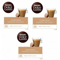 CAPSULAS DOLCE GUSTO CAFE CORTADO 3 PACKS 4.35 UD