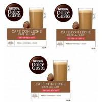 Dolce Gusto Café Leche Descafeinado 48 Ud