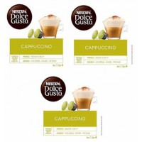 CAPSULAS DOLCE GUSTO CAPPUCCINO 3 PACKS 4.35 UD