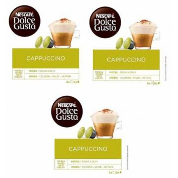 Dolce Gusto Cappuccino 3 Packs 4.4 Ud