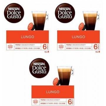 Dolce Gusto Lungo 3 Packs 4.4 Ud