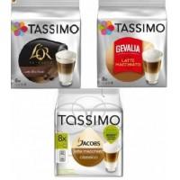 Tassimo Latte Machiatto Degustación 3 marcas