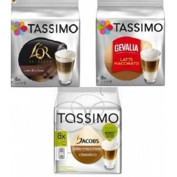 Degustación Tassimo Latte Machiatto 24 Bebidas