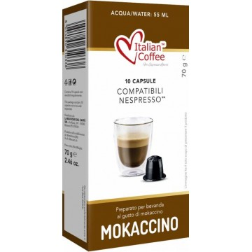 Compatibles Nespresso®* Mokaccino 10 UD