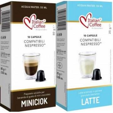 Compatibles Nespresso®* Chocolate con Leche 10 bebidas