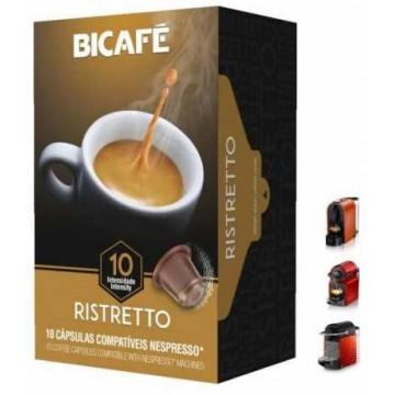 Compatibles Nespresso Ristretto Bicafe 50 Capsulas