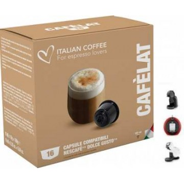Compatibles Dolce Gusto®* Cafe Leche 16 Ud