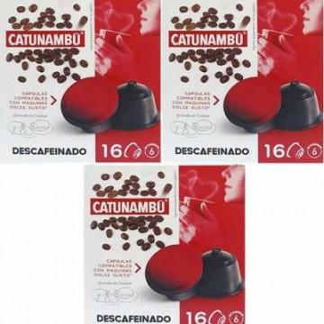 Catunambu Dolce Gusto®* Descafeinado 48 ud