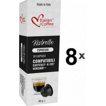 Caffitaly Capsulas Café Ristreto 80 Ud