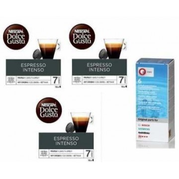 Dolce Gusto Intenso 3 Packs+Kit Descalcificante