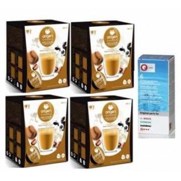Origen Cafe con Leche 64 Ud 1 Descalcificador