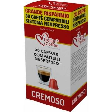 Compatibles Nespresso®* Cremoso 30 Capsulas