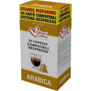 100% Arabica Compatibles Nespresso 30 Cápsulas