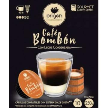 Origen Café con Leche Condensada 10 Cápsulas