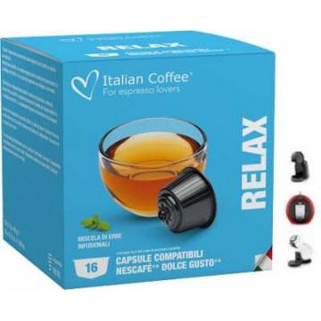 Tisana Relax Compatibles Dolce Gusto®* 16 Cápsulas