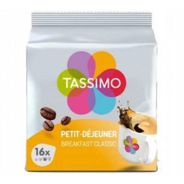 Tassimo Petit Déjeuner Classique - 16 T-Discs