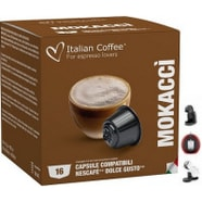 Dolce Gusto Café con Leche y Chocolate 16 Ud