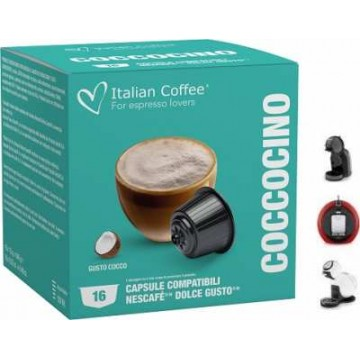 Dolce Gusto Café Leche Chocolate y Coco 16 Ud