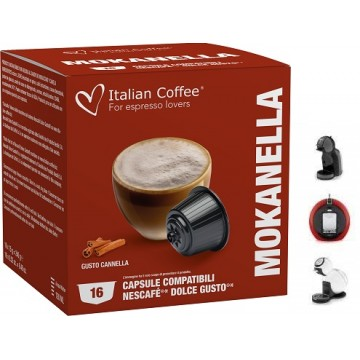 Dolce Gusto Café Leche Chocolate Canela 16 Ud