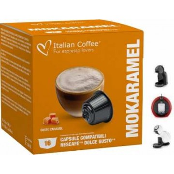 Dolce Gusto Café Leche Chocolate Caramelo 16 Ud