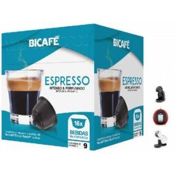 Compatible Dolce Gusto®* Bicafe Espresso 16 Ud