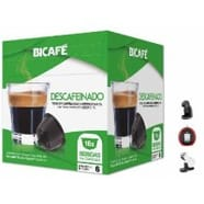 Bicafe Compatibles Dolce Gusto®* Descafeinado16 Cápsulas