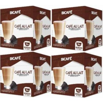 64 Cafe con Leche Bicafe Dolce Gusto Compatibles