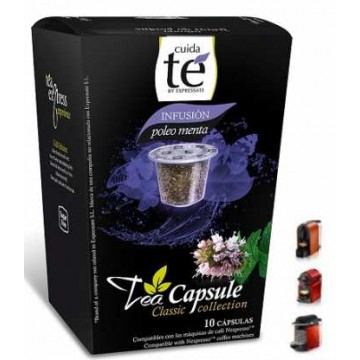 Capsulas Infusión Poleo Menta Nespresso 10 Bebidas