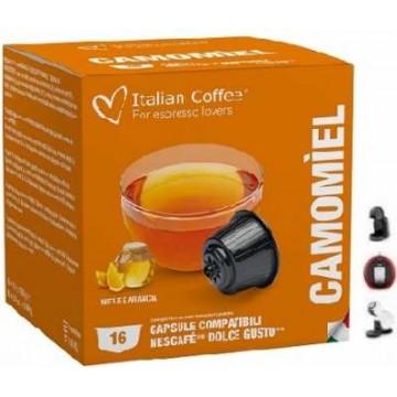 Manzanilla Compatibles Dolce Gusto 16 Capsulas