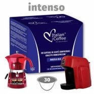 Capsulas Compatibles Cafeteras Bialetti Intenso 30 ud