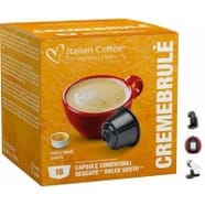 Creme Brule Dolce Gusto 16 Capsulas Compatibles