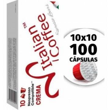 Compatibles Nespresso Inissia Crema 100 Capsulas