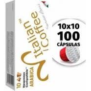 Compatibles Nespresso Arabica 100 Capsulas