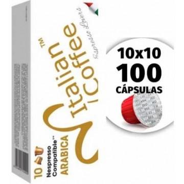 Nespresso Compatibles 100% Arabica 100 Capsulas